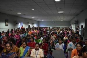 Women's Day Workshop at PSGR Krishnammal College For Women