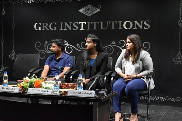 Women's Day Workshop at PSGR Krishnammal College For Women